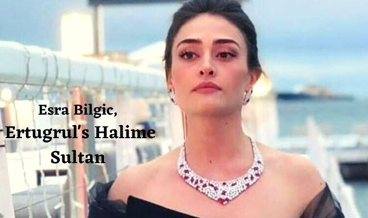 Ertugrul Actress Esra Bilgic aka Halime Sultan Looking Stunning in a new pose